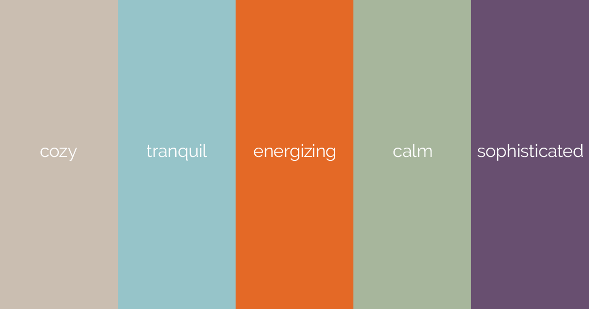 color selection moods & Color has feelings | Vendi Advertising Agency